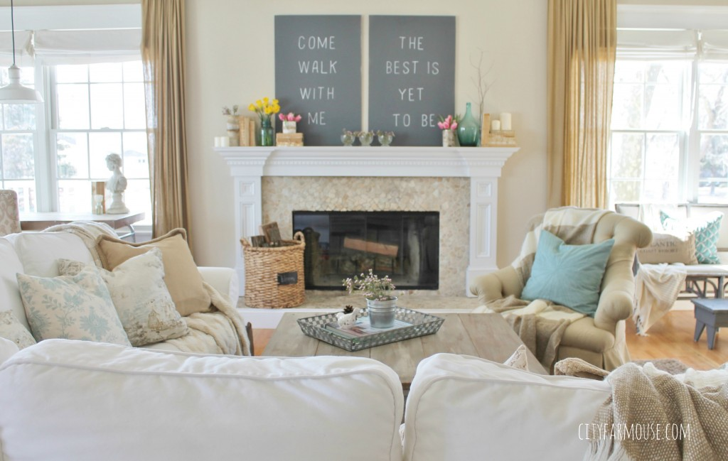Seasons Of Home- Easy Decorating Ideas For Spring