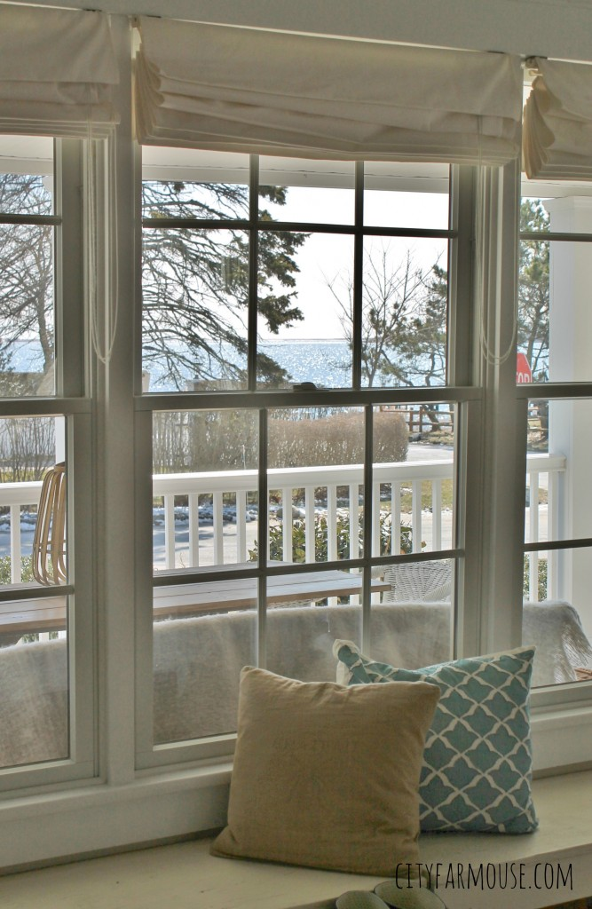 Seasons of Home-Easy Spring Decorating Ideas {City Farmhouse} Spring Tour & Views of the Bay