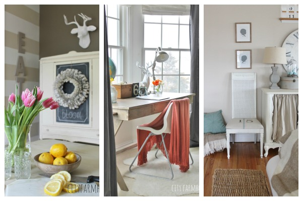 The Inspiration Exchange Linky Party #1 {City Farmhouse}