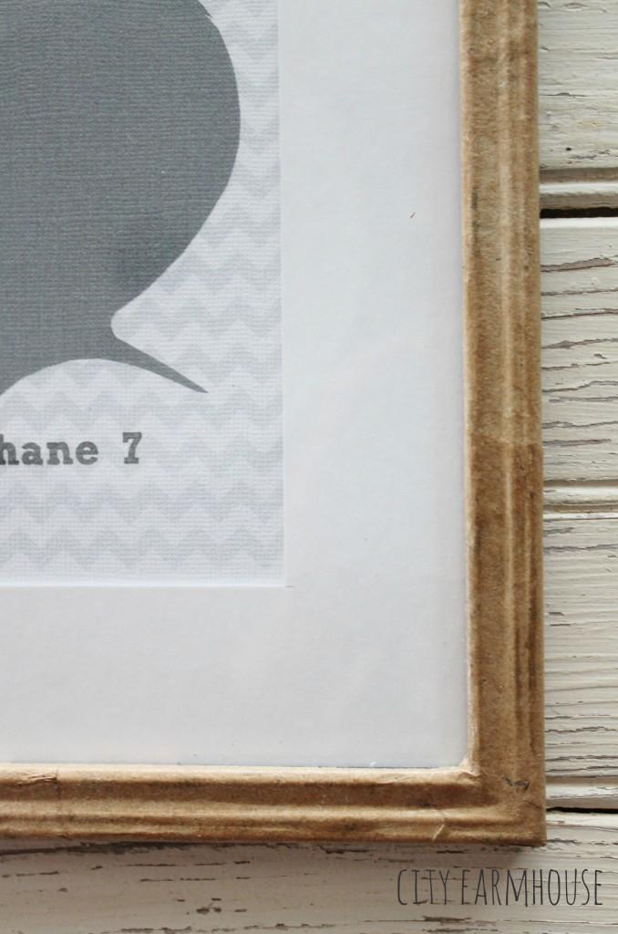 Dekorationly.com DIY ambachtelijke papierkaders, silhouetten en familie silhouetten papierkaders familie ambachtelijke