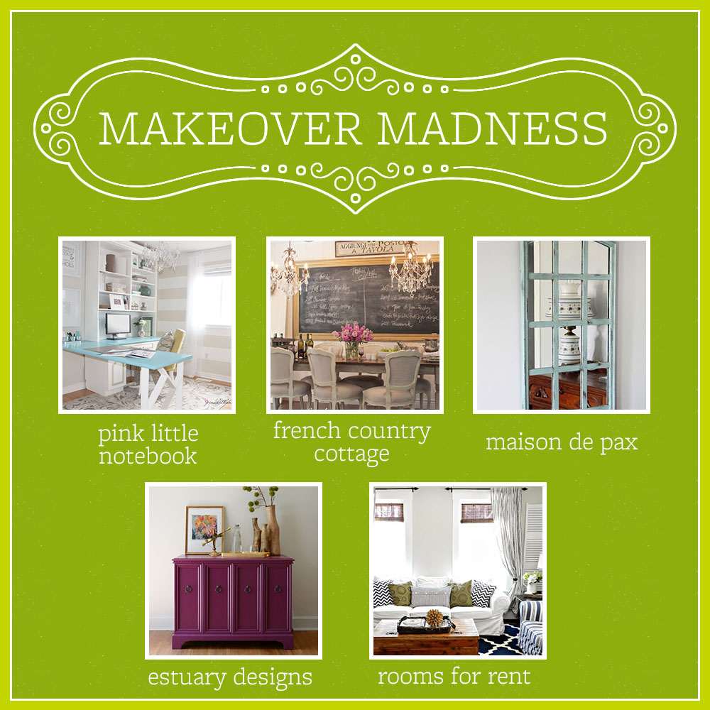 Dekorationly.com Winnaars van de BHG Makeover Madness Linky Party winnaars party makeover madness linky