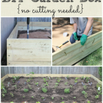 The Easiest DIY Garden Box {No Cutting Needed} & The Inspire Me DIY Challenge