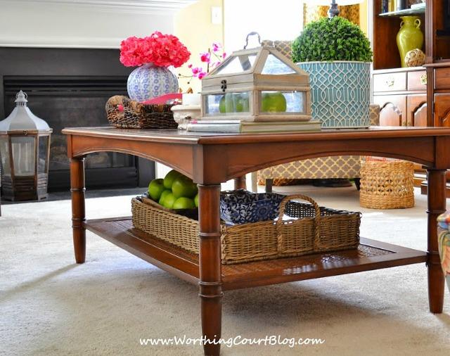 Coffee Table Styling-Worthington Court