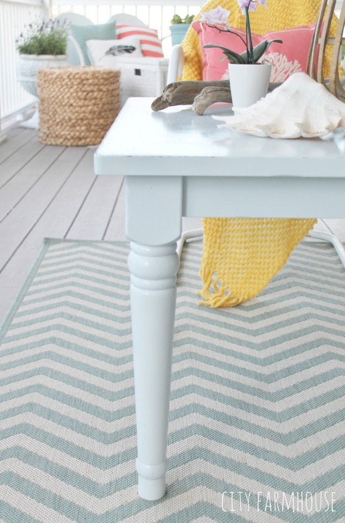 Outdoor Coffee Table From PB Kids Table