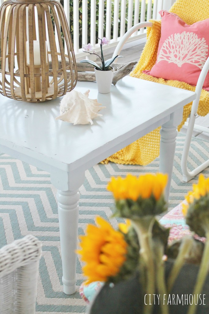 Pottery Barn Kids Table Makeover