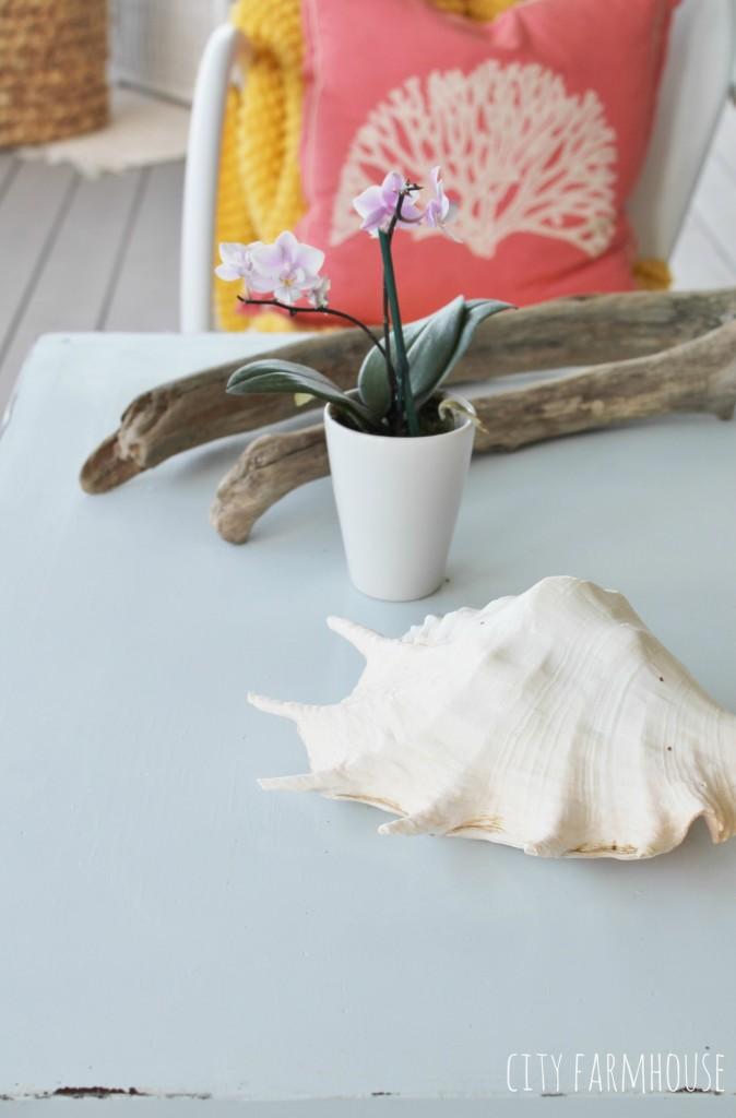 Summer POrch-Outdoor Coffee Table