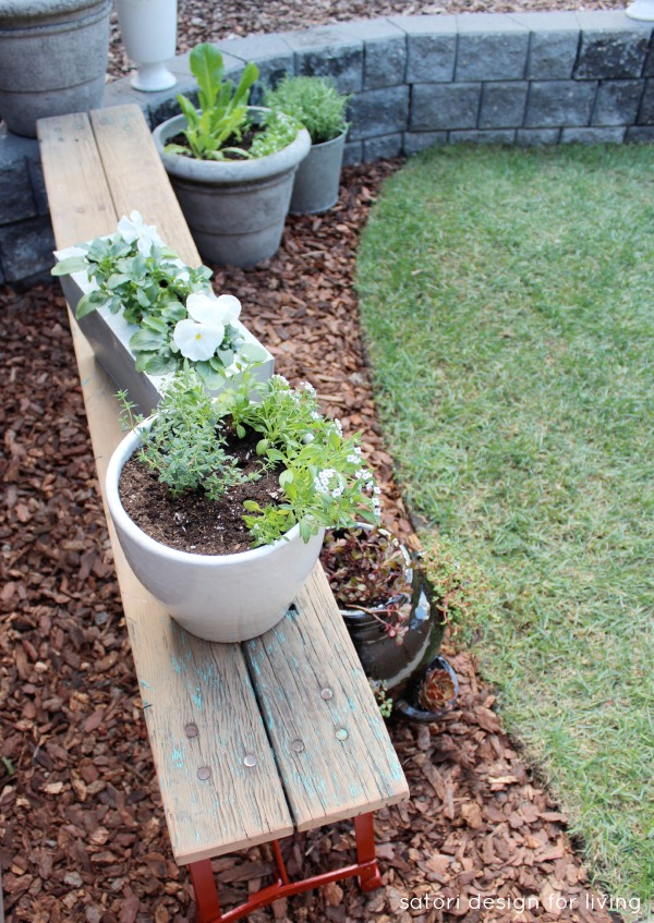 Weathered-Bench-Container-Garden