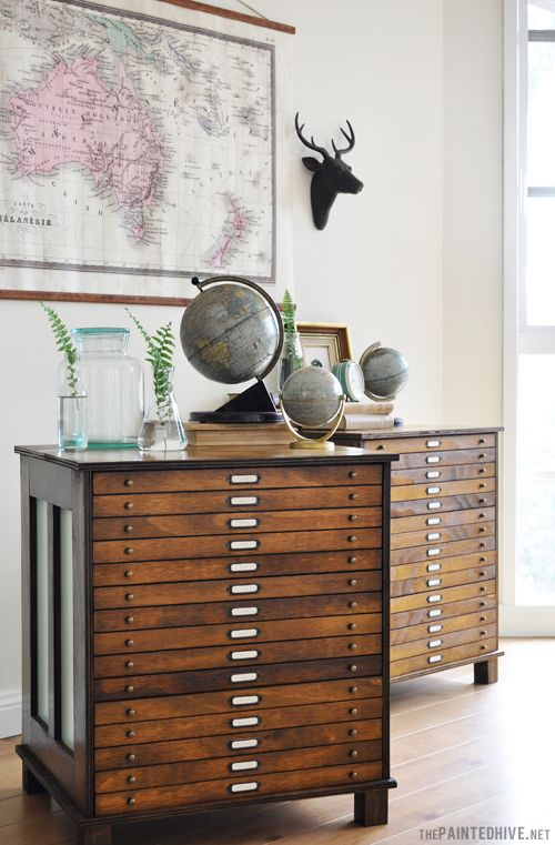 Makeover Trend-Library Influence-The Pianted Hive