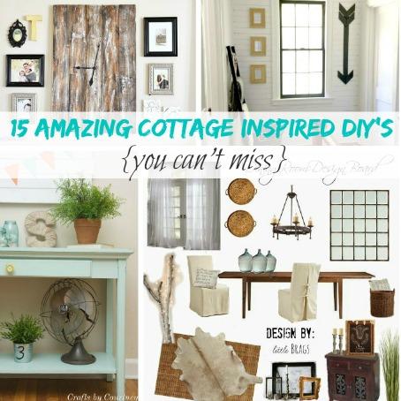 15 Amazing Cottage Inspired DIY's