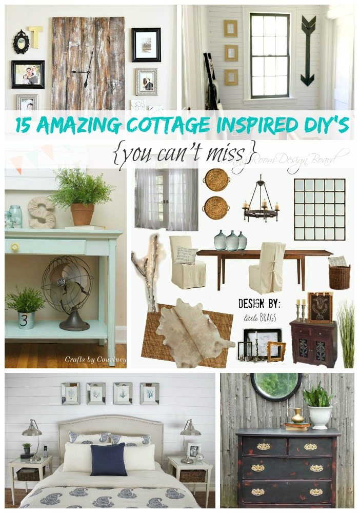15 Amazing Cottage Inspired DIY's You can't Miss