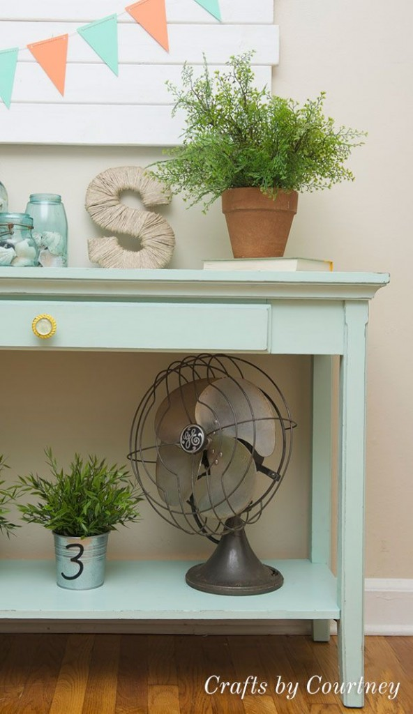 Features Crafts By Courtney-beautifully painted table
