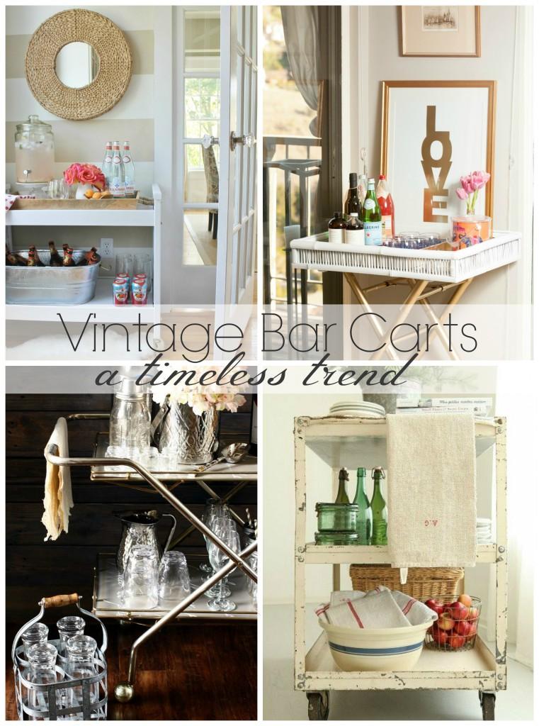 Vintage Bar Carts-A Timeless Trend