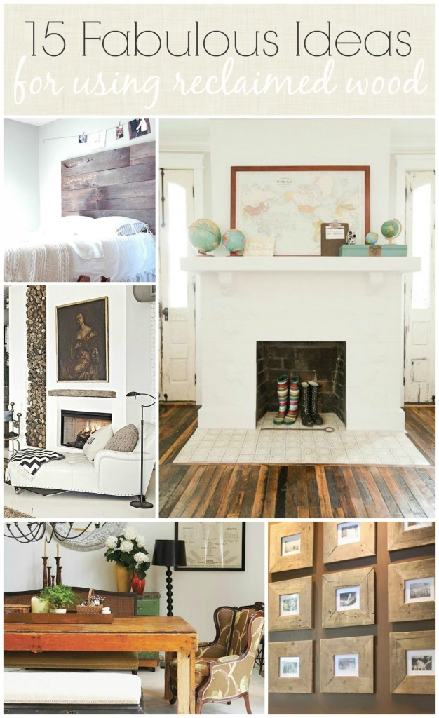 bhg living room design ideas. 15 Fabulous Ideas For Using Reclaimed Wood BHG  City Farmhouse