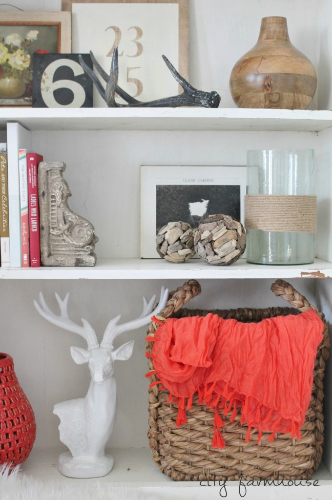Free Fall Printable-Gratitide Changes Everything & Rustic Chic Shelves