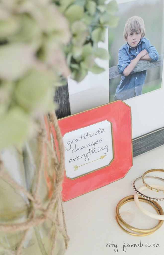 Gratitide Changes Everything -Free Fall Printable