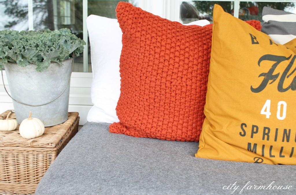 H & M Cozy Fall Pillows