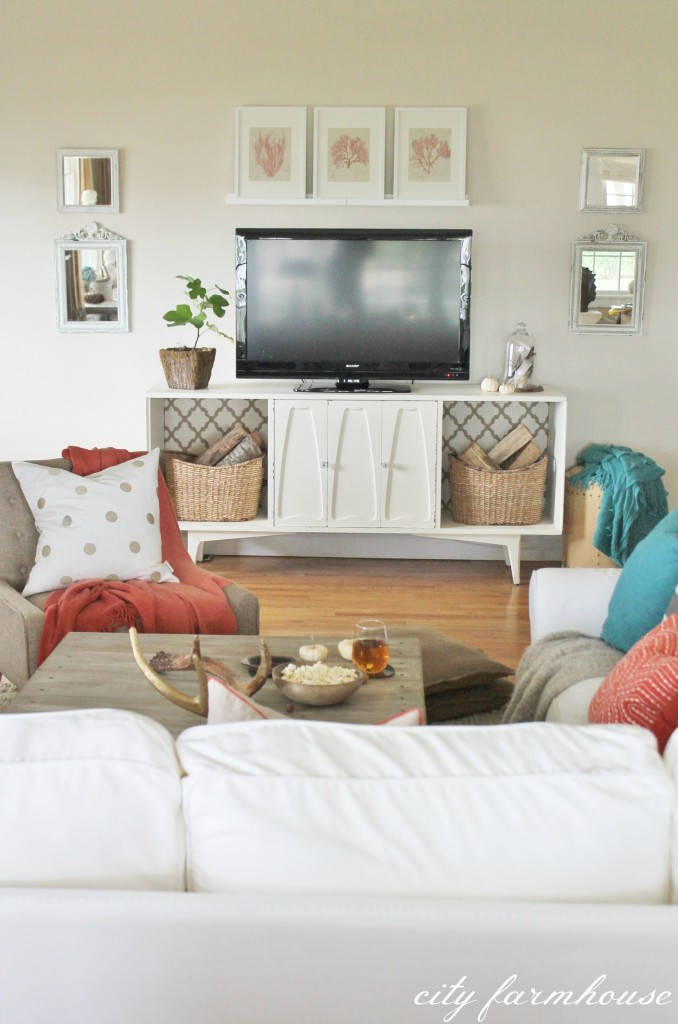 Rustic Chic Fall Tour-Family Room