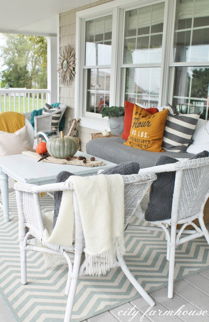 Rustic Fall Porch-Rug Ballards