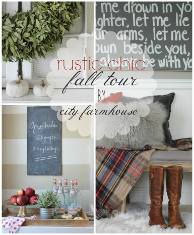 Rustic Chic Fall Tour