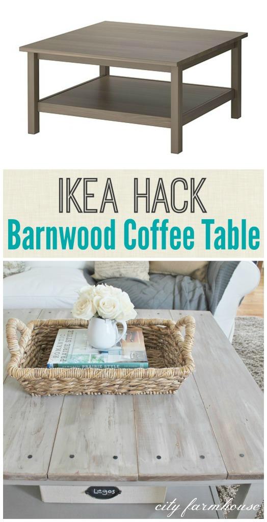 Ikea Hack Barnwood Coffee Table