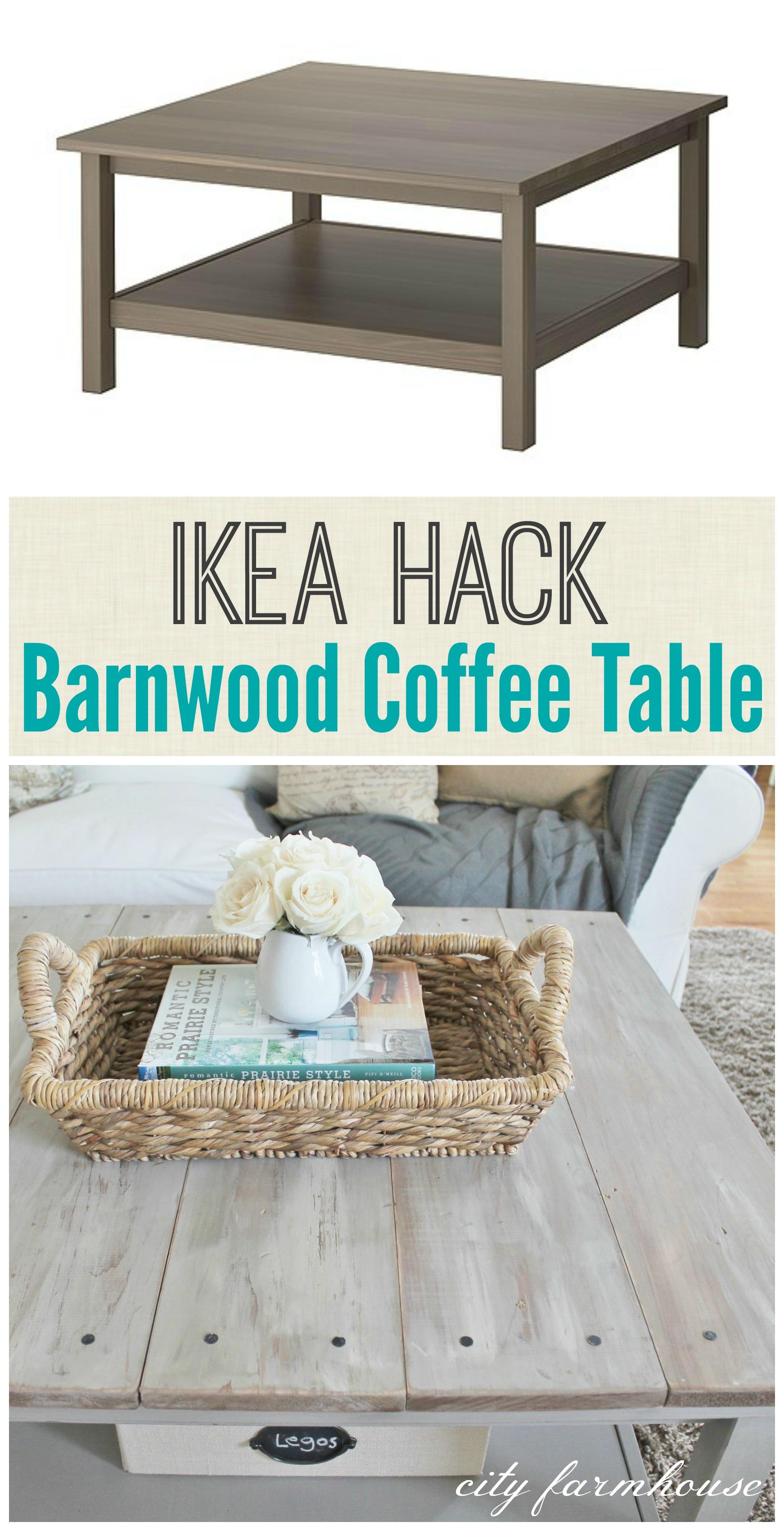 Ikea Barnwood Coffee Table