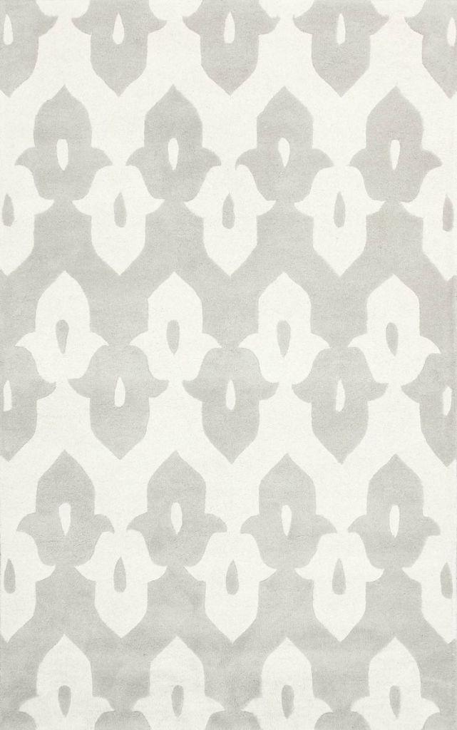 Rugs USA Light Gray Wool