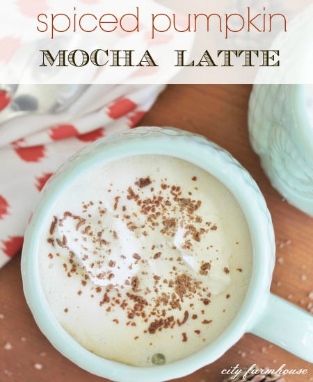 Spiced Pumpkin Mocha Latte