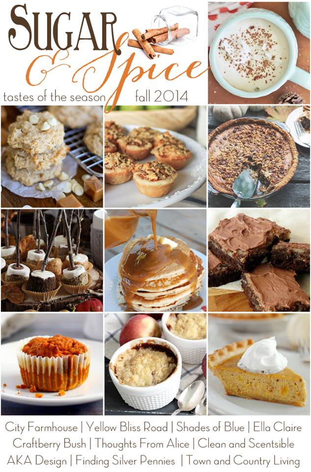Sugar & Spice-10 AMAZING Fall Recipes