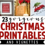 Free Christmas Printable + Vignette Hop