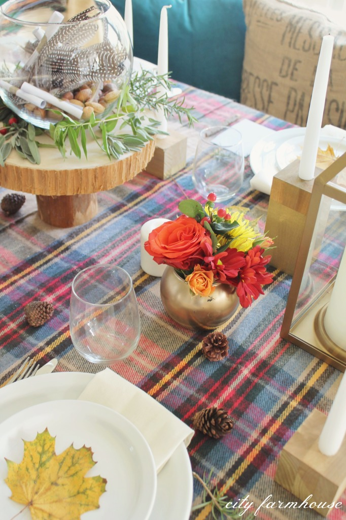 Autumn Colors-THanksgiving Table