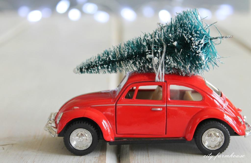 DIY Car + Tree Ornament