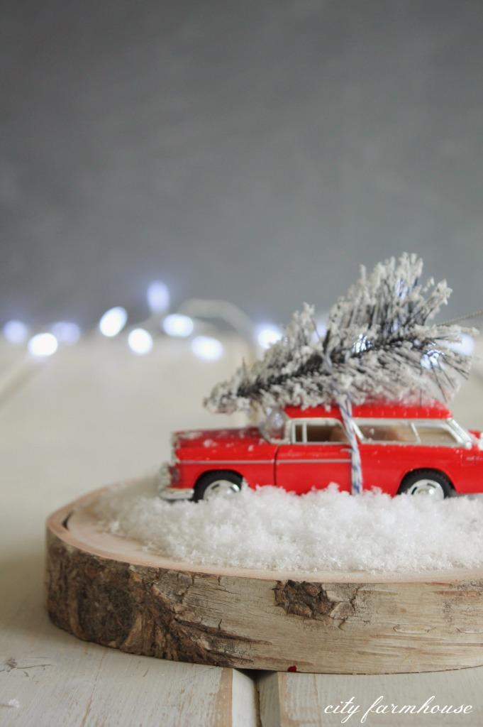 DIY Christmas Tree & Car