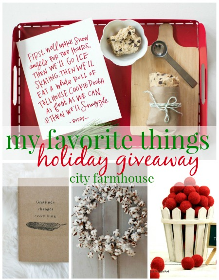 Favorite Holiday Things Giveaway Hop