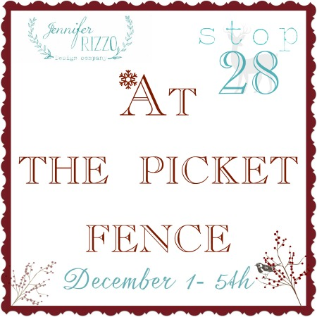 At the picket fence stop 28