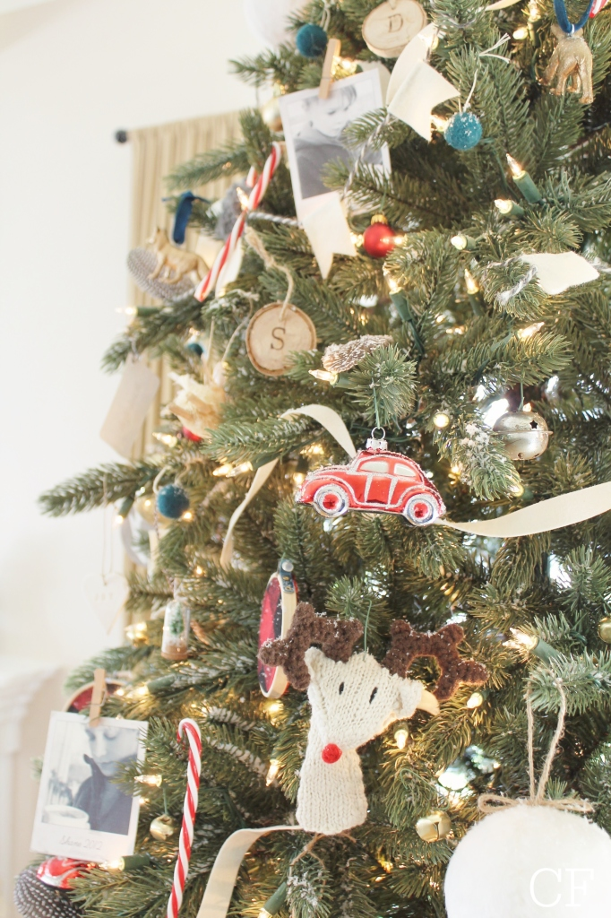 Balsam Hill Vermont Spruce Christmas Tree + DIY Ornaments