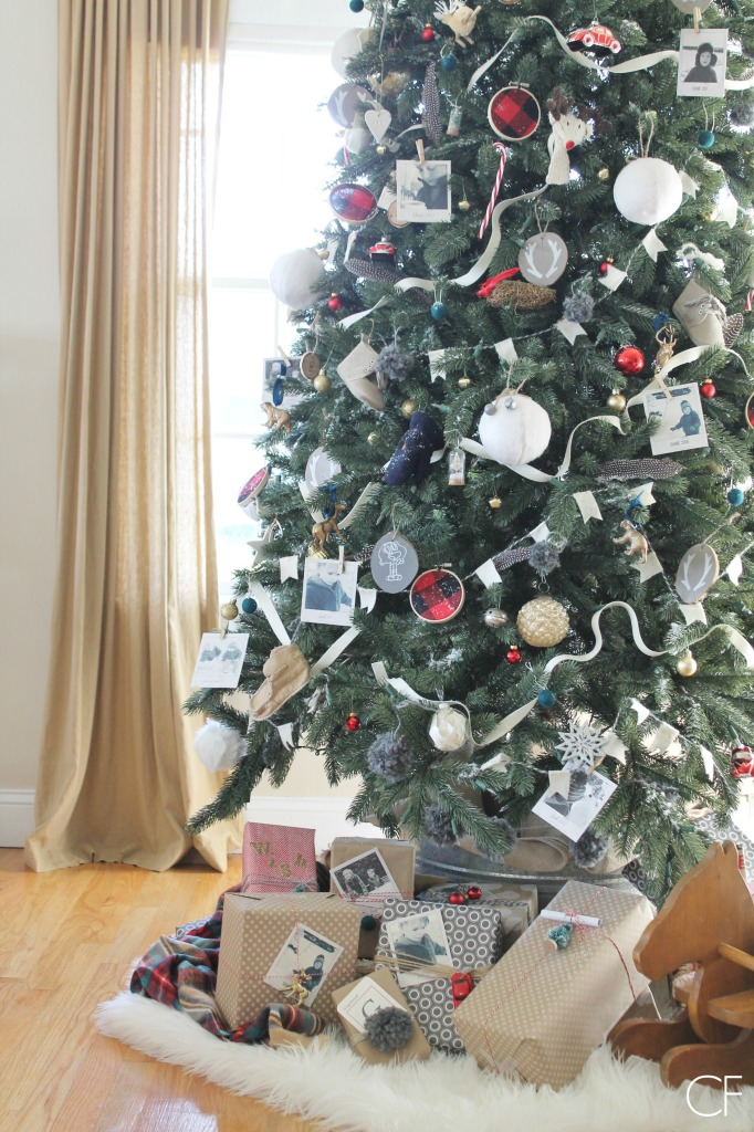Balsam Hill Vermont Spruce Tree + DIY Ornaments