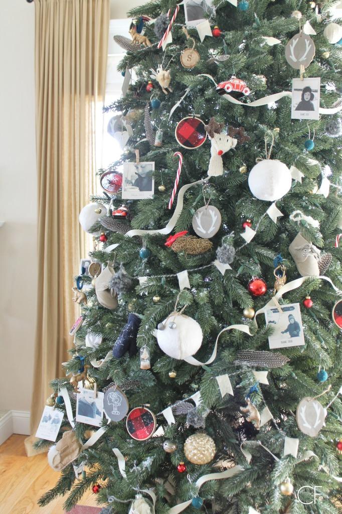 Balsam Hill Vermont Spruce Tree + DIY Ornaments City Farmhouse