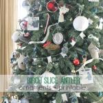 Birch Slice Antler Ornaments + Printable