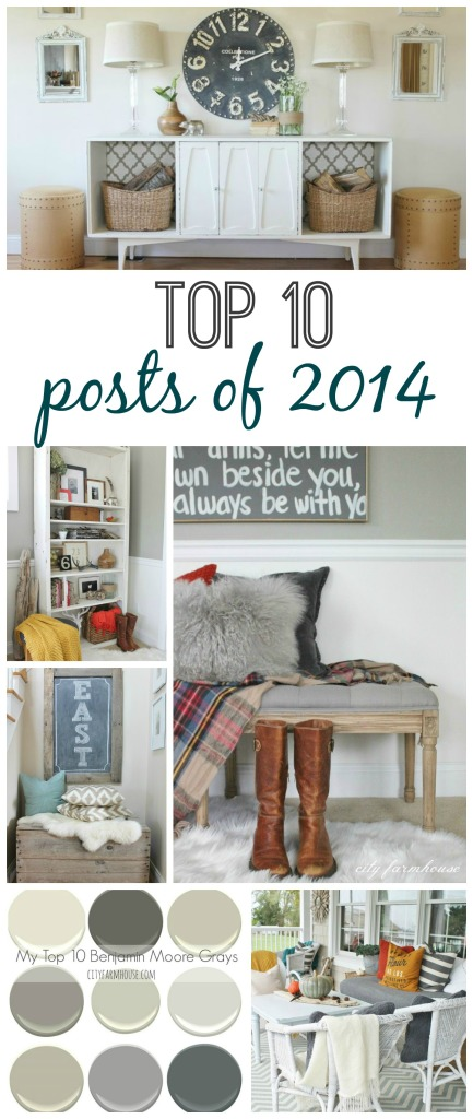 City Farmhouse Top 10 Posts of 2014