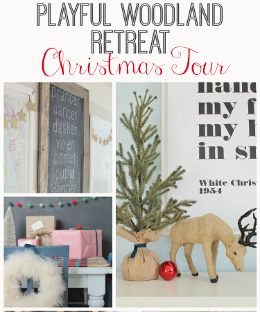 Playful Woodland Retreat Christmas Tour-City Farmhouse feature