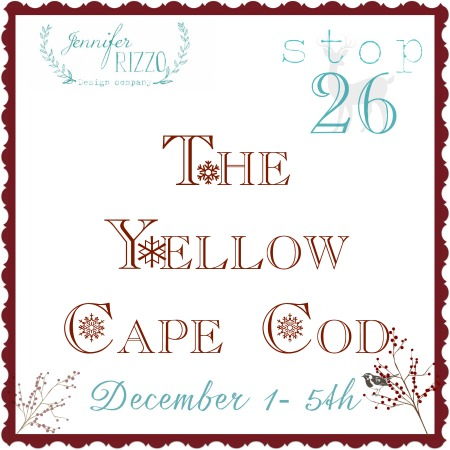 The yellow cape code house 26