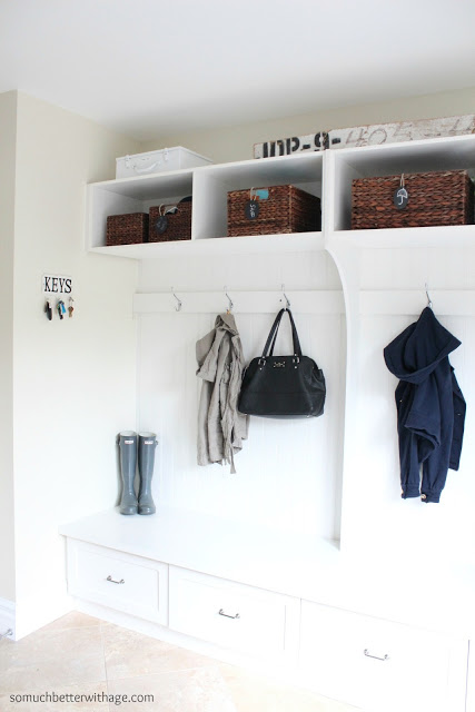 Better With Age House Tour Mudroom