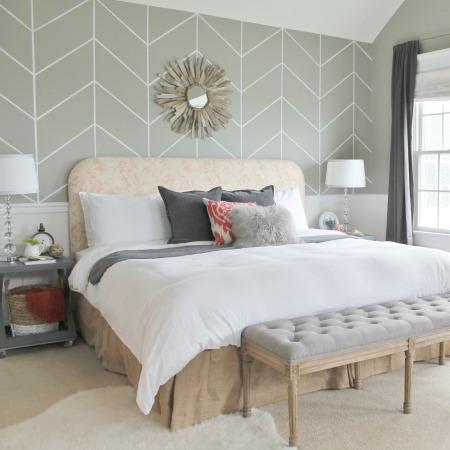 Master Bedroom Peek & BHG Feature