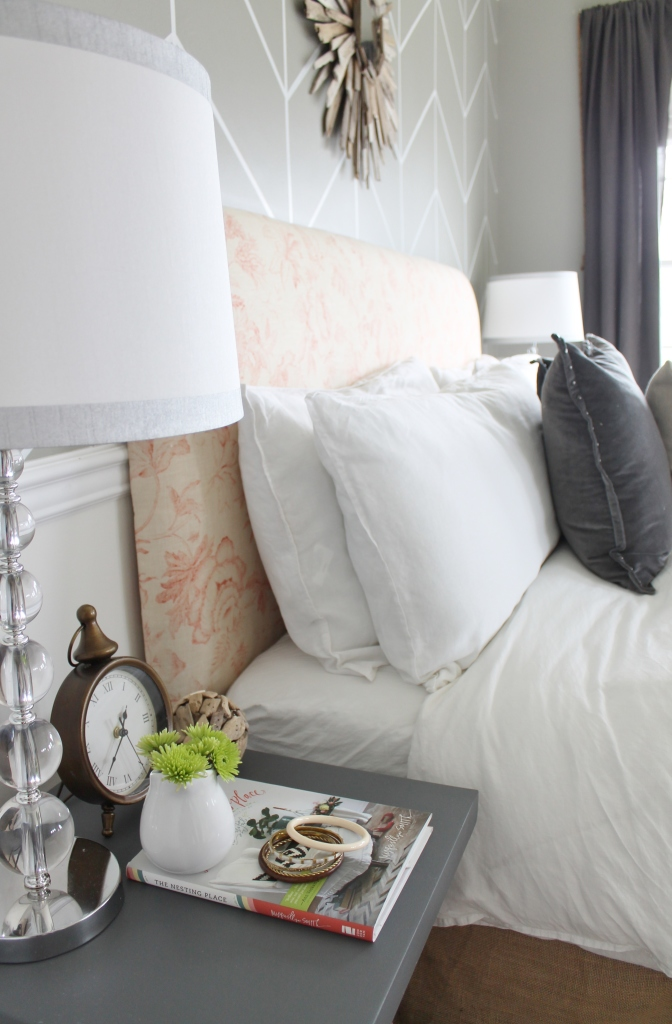 City Farmhouse Thrifty Romantic Modern Master Bedroom