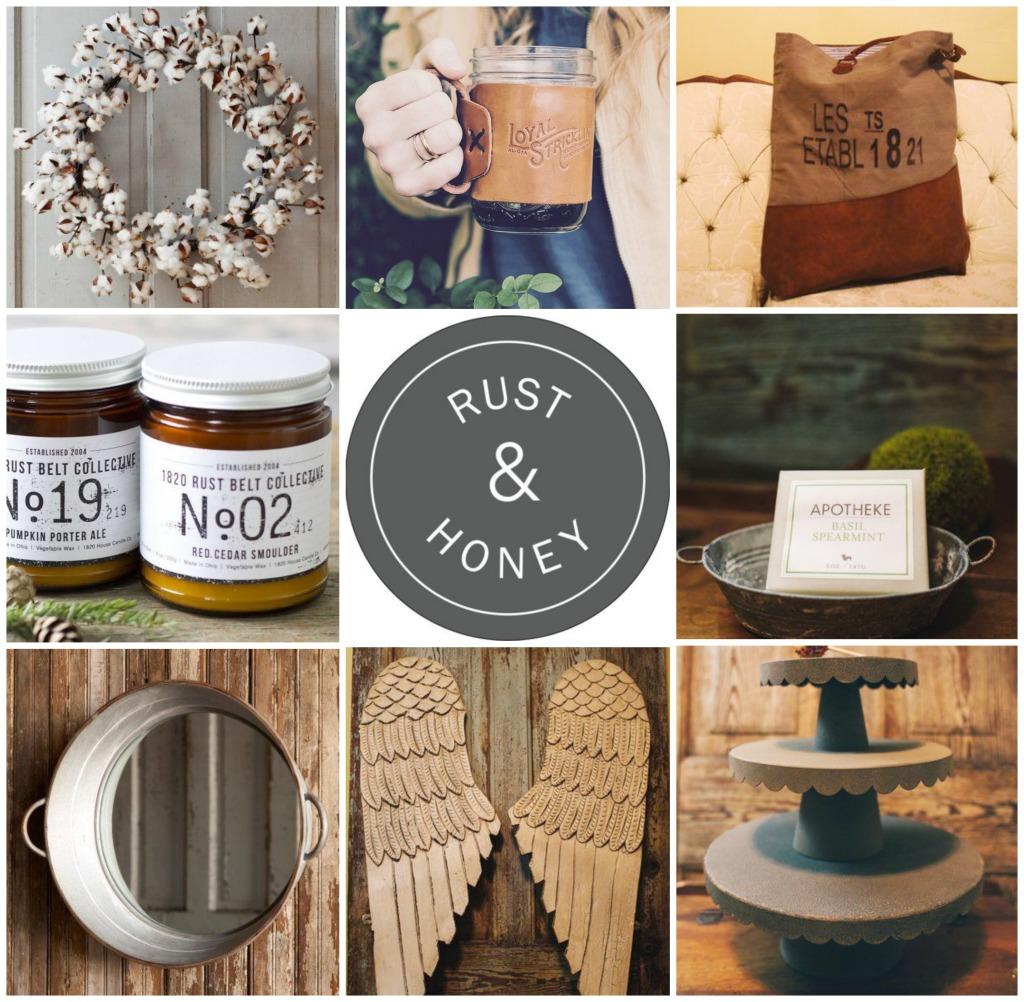 Rust & Honey  A Farmhouse Chic Shop