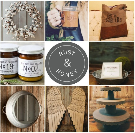 Rust + Honey- A Farmhouse Chic Shop