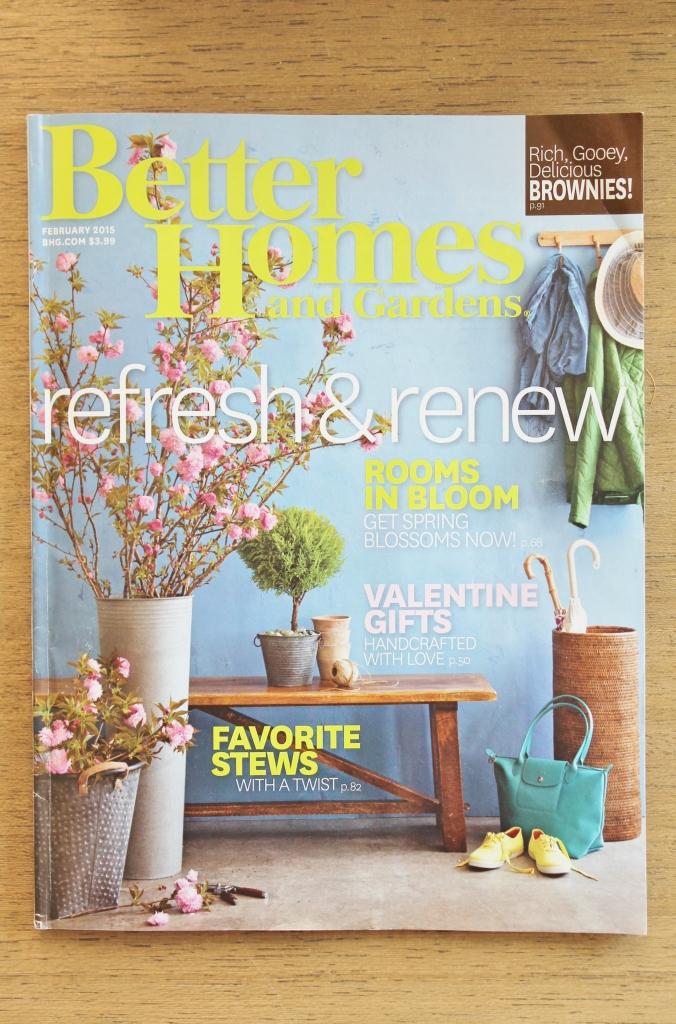 BHG Feb 2015 Issue