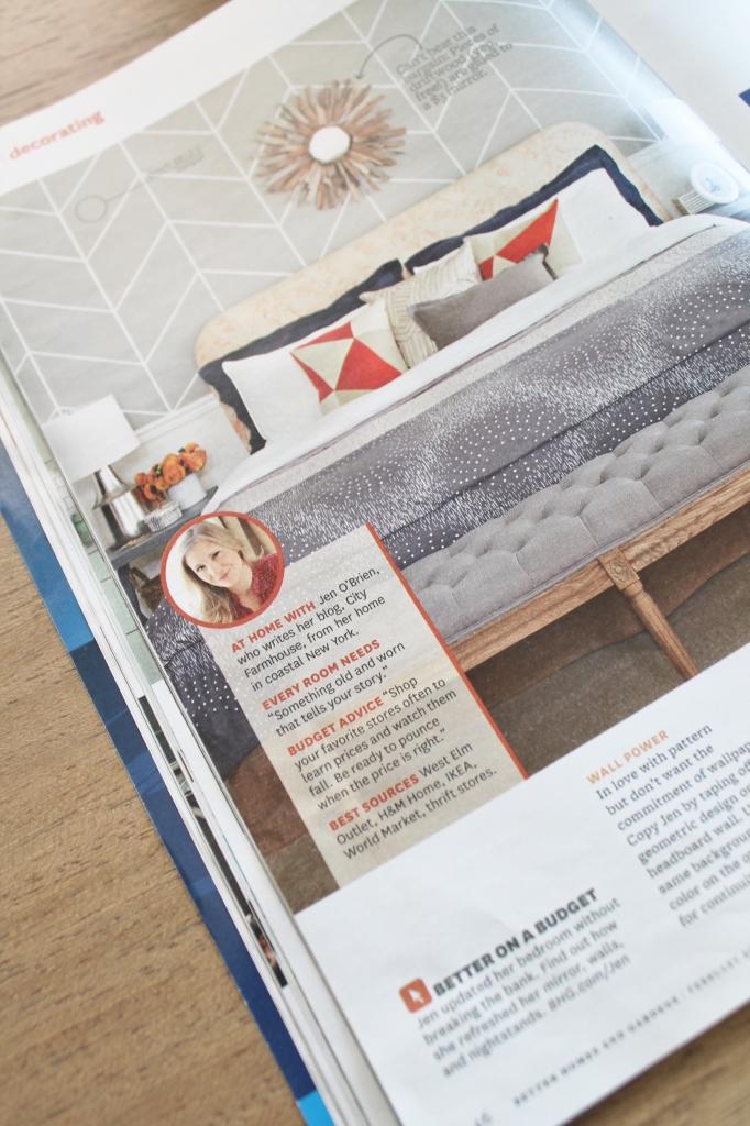 BHG CIty Farmhouse Bedroom Feature