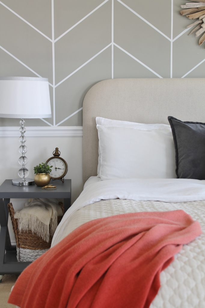 Neutral Bedding Farmhouse Chic Bedroom