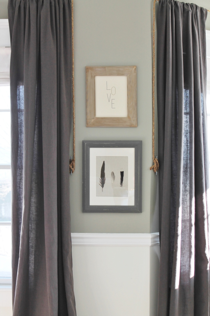 Restoration Hardware Outlet Gray Linen Drapes
